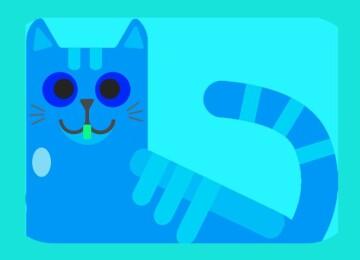 Новогодний костюм «Голубой тигр»